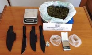 Μεσσηνία: Σύλληψη 48χρονου με μισό κιλό κάνναβης