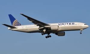 Περιπέτεια στον αέρα λόγω ασθένειας του συγκυβερνήτη σε αεροπλάνο της United Airlines