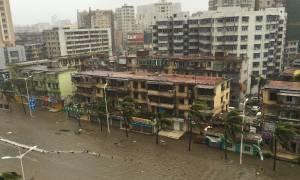 Κίνα: 19 οι νεκροί από τον τυφώνα Μουτζικάε