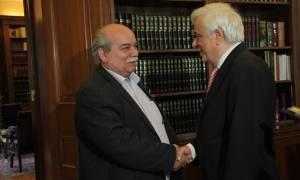 Παυλόπουλος προς Βούτση: Εύχομαι να είστε πρόεδρος όλων των βουλευτών