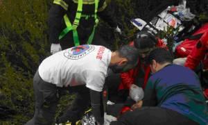 Αίσιο τέλος είχε η επιχείρηση διάσωσης 60χρονης που έπεσε σε πηγάδι