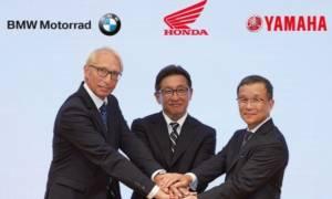 Μοτοσυκλέτα: Συνεργασία Honda, BMW Motorrad και Yamaha