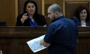 Μάρτυρας στη δίκη Χ.Α.: Στο αυτοκίνητο μαζί με τον Ρουπακιά και οι σύζυγοι δύο εκ των κατηγορουμένων