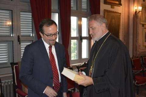 Στην Σχολή της Χάλκης ο Αμερικανός Πρέσβης στην Αγκυρα (pics)