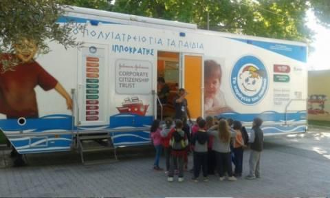 Δωρεάν εξετάσεις σε όλη την Ελλάδα από το «Χαμόγελο του Παιδιού» και τους «Γιατρούς του Κόσμου»