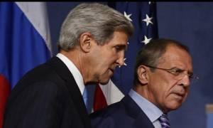 Τηλεφωνική επικοινωνία Λαβρόφ-Κέρι για τη Σύρια