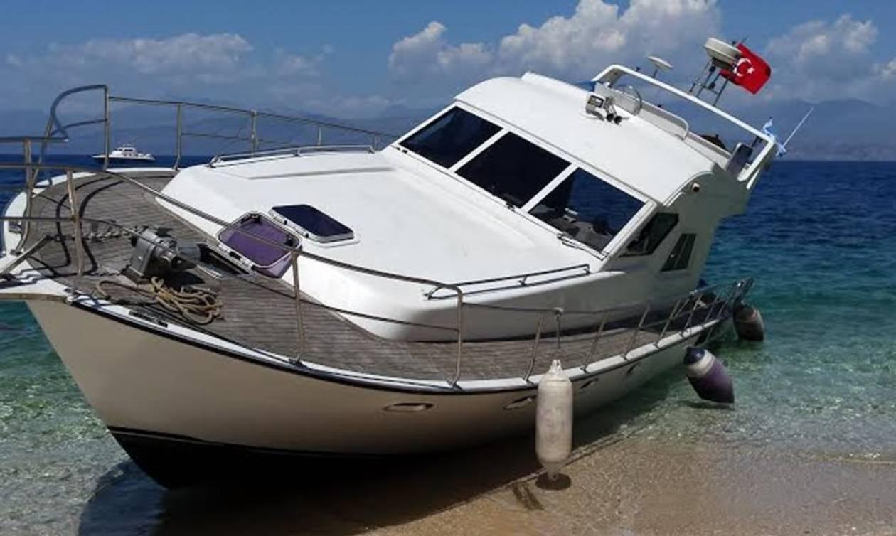 Λέσβος: Τουρκική θαλαμηγός… με κάνναβη εμβόλισε σκάφος της FRONTEX
