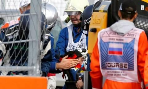 F1 Grand Prix Ρωσίας: Σοκάρει το ατύχημα του Sainz (photos&video)