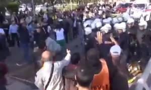 Μακελειό στην Τουρκία: Αστυνομικοί εμποδίζουν ασθενοφόρα στην Άγκυρα! (videos)