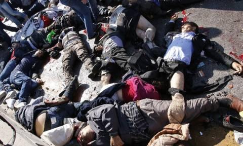 Ξεχειλίζει η οργή στην Τουρκία μετά το μακελειό (photos & videos)