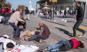 Σκληρό βίντεο: Τα πρώτα λεπτά μετά το αιματοκύλισμα στην Άγκυρα
