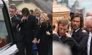 Συντετριμμένος αποχαιρέτησε την πρώην σύντροφό του ο Τζιμ Κάρεϊ (photos)