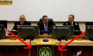 Το μασονικό σύμβολο του ΝΑΤΟ και η επίσκεψη Καμμένου