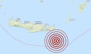 Σεισμός 4,7 Ρίχτερ νότια του Λασιθίου (pics)