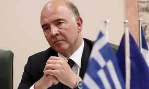 Μοσκοβισί: «Δεν υπάρχει διάθεση» για κούρεμα, μετά από την αξιολόγηση η συζήτηση για το χρέος