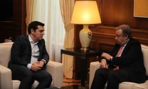 Τσίπρας σε Γκουτέρες: Οι Έλληνες έχουν την εμπειρία των προσφύγων