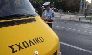 Δεκάδες παραβάσεις σε σχολικά λεωφορεία εντόπισε η Τροχαία Αττικής