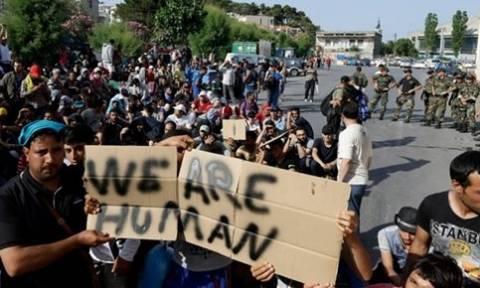 Ιρακινοί αιτούντες άσυλο διαμαρτύρονται για τα σχέδια της φινλανδικής κυβέρνησης