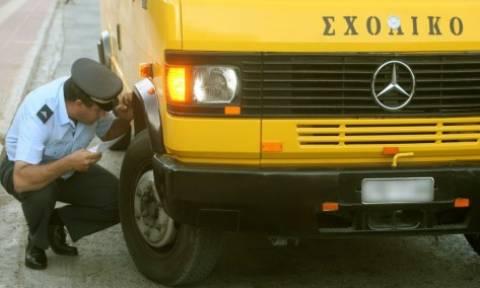 Θεσσαλονίκη: 145 παραβάσεις διαπιστώθηκαν σε σχολικά λεωφορεία