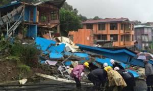 Μιανμάρ: Τουλάχιστον 17 νεκροί από κατολίσθηση