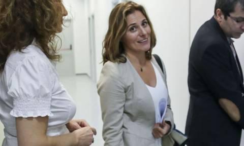 Με ελικοφόρο στην Κοζάνη για το δεύτερο μάθημά της η Μπέτυ Μπαζιάνα