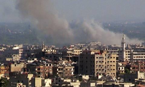 Επίθεση με ρουκέτες στη ρωσική πρεσβεία στη Δαμασκό