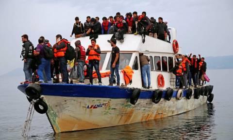 Τούρκος διακινητής μετέφερε στη Μυτιλήνη 1.000 μετανάστες σε ένα Σαββατοκύριακο (pics)