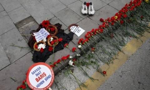 Νταβούτογλου: Οι δράστες της επίθεσης στην Άγκυρα συνδέονταν με το Ι.Κ. ή το PKK