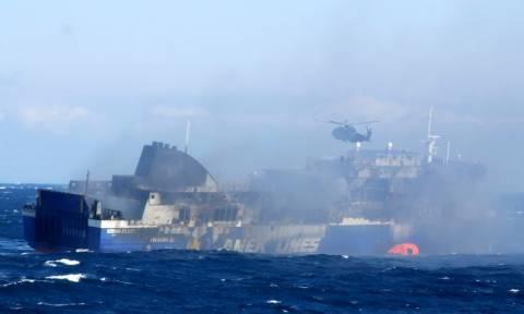 Νόρμαν Ατλάντικ: «Στο γκαράζ του πλοίου υπήρχε φορτηγό με αναμμένη μηχανή»