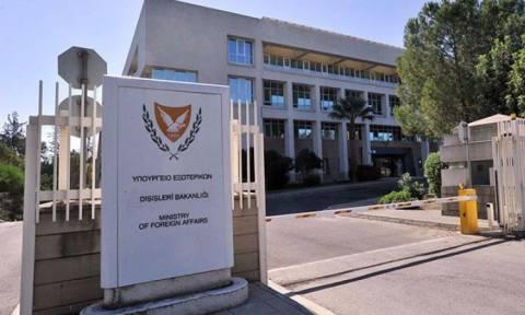 ΥΠΕΞ Κύπρου: Παραβιάζει το διεθνές δίκαιο ο αγωγός νερού από τη Τουρκία στα Κατεχόμενα