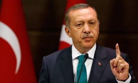 Κατεχόμενα: Εγκαίνια αγωγού νερού παρουσία Ερντογάν