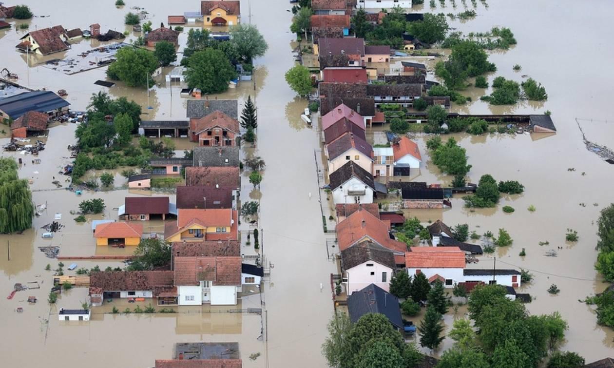 Πλημμύρες και ζημιές προκάλεσαν οι σφοδρές βροχοπτώσεις σε Βοσνία/Ερζεγοβίνη και Κροατία