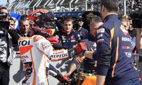 MotoGP Grand Prix Αυστραλίας: Ο Marc Marquez στην pole position (photos)