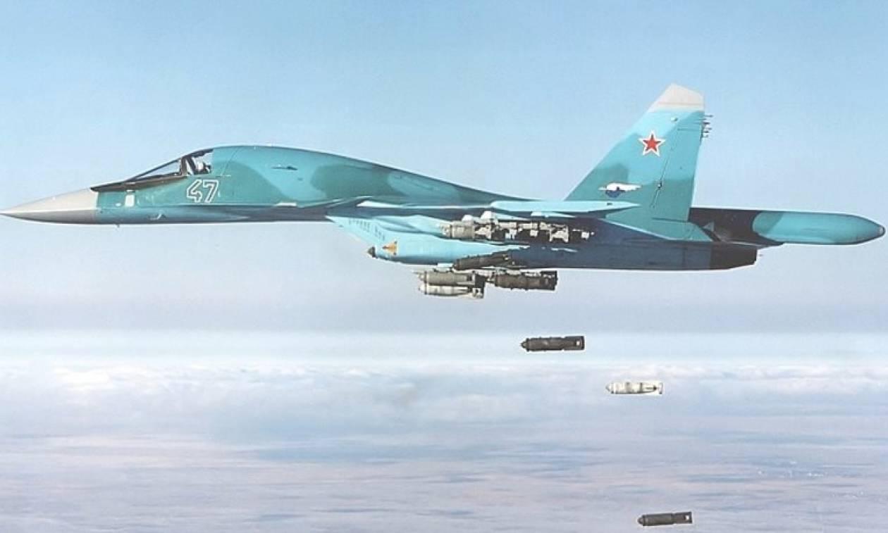 Η ρωσική Πολεμική Αεροπορία έπληξε 49 στόχους του Ισλαμικού Κράτους