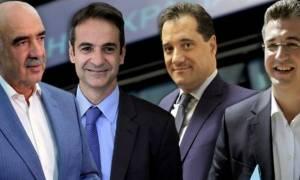 Βαγγέλη Μεϊμαρακη και Απόστολο Τζιτζικώστα δείχνουν οι δημοσκοπήσεις