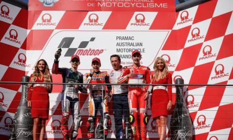 MotoGP Grand Prix Αυστραλίας: Ο πενηντάρης Marquez (photos)