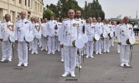 Τελετή Παράδoσης Παραλαβής Διοικητή Διοίκησης Διοικητικής Μέριμνας Ναυτικού (pics)