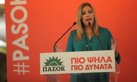 Γεννηματά: Ο «Τσε Γκεβάρα» Τσίπρας κατέβασε γρήγορα τη σημαία της επανάστασης