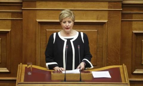 Μαρία Κόλλια – Τσαρούχα: «Η ιστορία θα μας κρίνει»