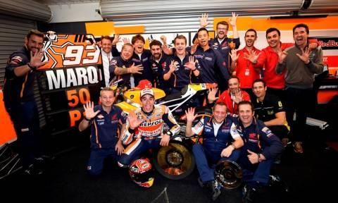 MotoGP Grand Prix Αυστραλίας: Η πέμπτη και 50η νίκη του Marquez