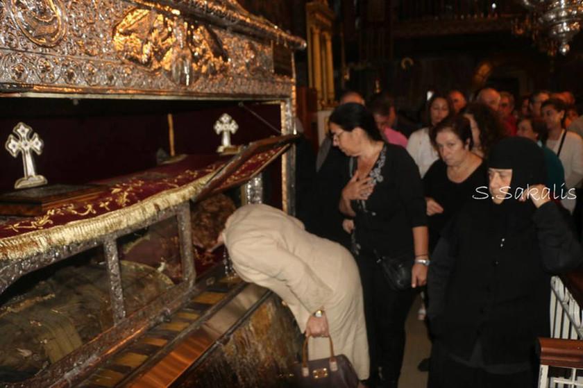 Μεταφορά Ιερού Σκηνώματος του Αγίου Γερασίμου (pics)