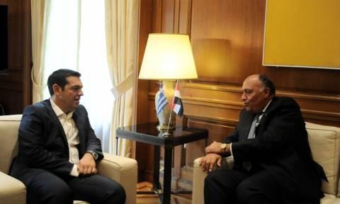 Ανάπτυξη σχέσεων Ελλάδας - Αιγύπτου λόγω ΑΟΖ