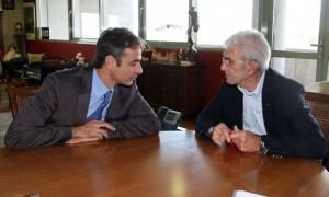Ο Μητσοτάκης, ο Μπουτάρης και τα νούμερα του Τζόκερ (βίντεο)