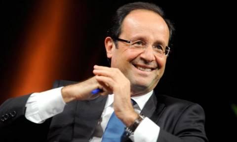 Stringent security in Greek Parliament during Hollande visit