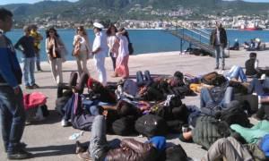 Λέσβος: Πάνω από 7.000 μετανάστες μέσα σε τρεις ημέρες