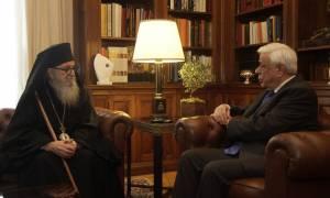 Παυλόπουλος προς Αρχιεπίσκοπο Δημήτριο: Η ομογένεια στάθηκε στο πλευρό μας