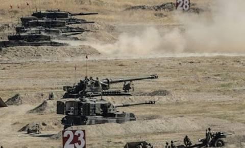 Τουρκική άσκηση χερσαίων δυνάμεων
