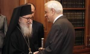 Συνάντηση Παυλόπουλου με Αρχιεπίσκοπο Αμερικής
