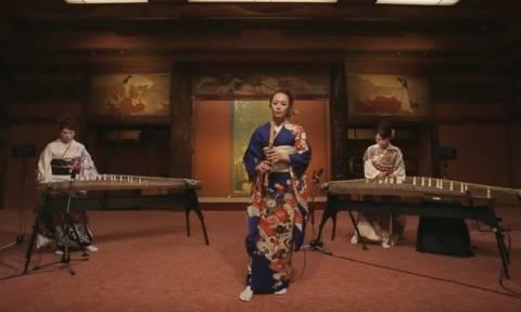 Τραγούδι του Michael Jackson σε μία μοναδική ενορχήστρωση από παραδοσιακά όργανα της Ιαπωνίας