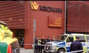 Τρεις νεκροί από την επίθεση μασκοφόρου με σπαθί σε σχολείο της Σουηδίας (video)